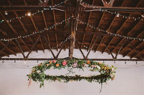 Wedding Trends Floral Garlands And Wreaths