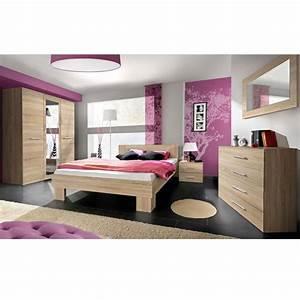 Chambre Complete Adulte : chambre compl te adulte 6p vicky 160x200cm ch ne ~ Carolinahurricanesstore.com Idées de Décoration
