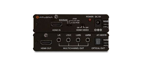 Hdmi Audio De-embedder With 3d Support