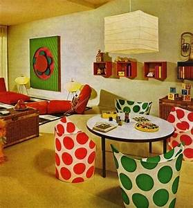 1960s interior design retro pinterest for Interior design ideas for 1970s house