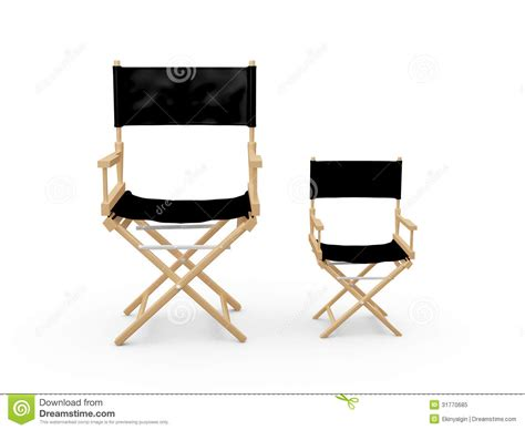 directors chairs stock illustration image of