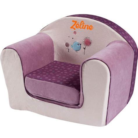 canape mickey fauteuil enfant avec prénom birdy