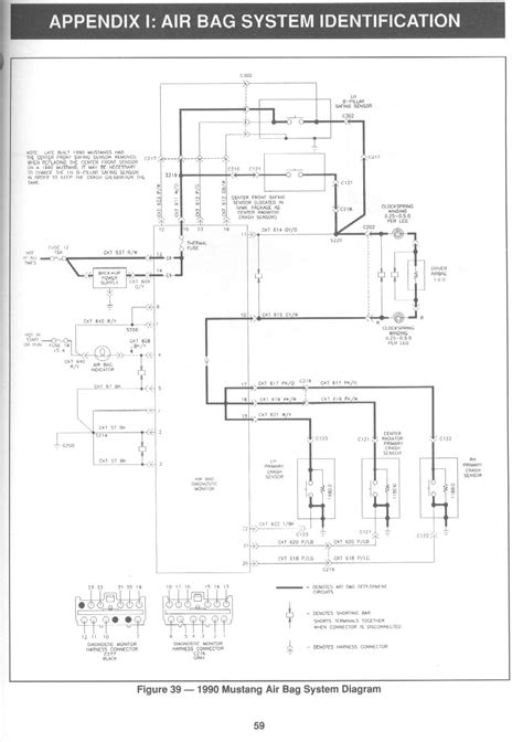airbag deployment 1991 ford ranger on board diagnostic system wrg 8908 air bag schematics seat sensor