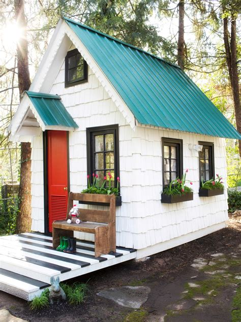 fairytale backyards  magical garden sheds