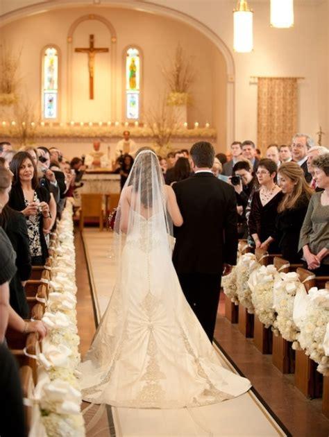 Church Pew Decorations Archives Weddings Romantique