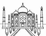 Mosque Coloring Pages Colouring Sheets Cute Getdrawings sketch template