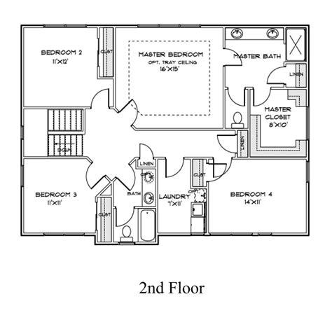 homes kensington  bedroom  bath home plan