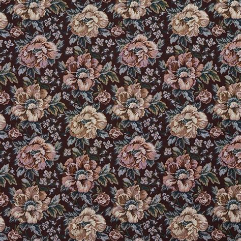 floral upholstery fabric f656 green and floral tapestry upholstery fabric by