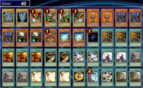 Exodia Deck List 2012 by Yu Gi Oh Ygopro Decks Exodia Ftk