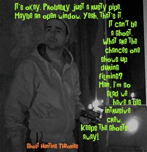 Ghost Hunters Meme - ghost hunting theories more paranormal memes