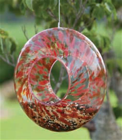 duncraftcom glass circle bird feeders