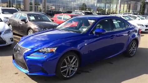 Lexus Is 250 Blue by New Ultrasonic Blue Mica 2015 Lexus Is 250 Awd F Sport