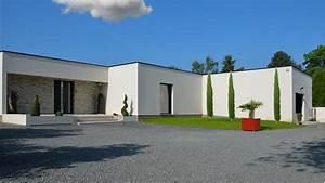 Maison Plain Pied En L : maisons ortelli constructeur de maisons contemporaines ~ Melissatoandfro.com Idées de Décoration