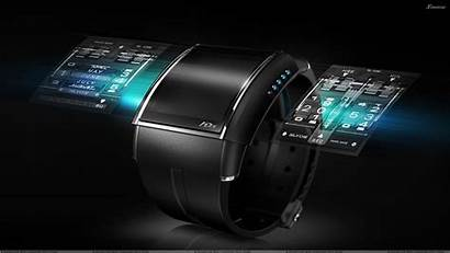 Technology Luxury Wristwatch Computers Smart Watches Face