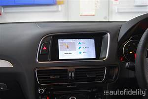 Touchscreen Integrated Satellite Navigation System For