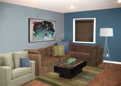 Zimmer Grau Blau by Brown And Blue Living Room With Grey And Blue Home