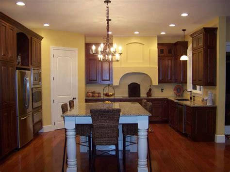 Kitchen Paint Colors To Match Cherry Cabinets by Oak Hardwood Flooring Feel The Home