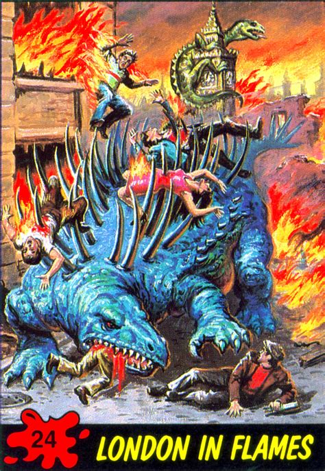 Maybe you would like to learn more about one of these? MONSTER BRAINS: Dinosaurs Attack! Trading Cards, 1988