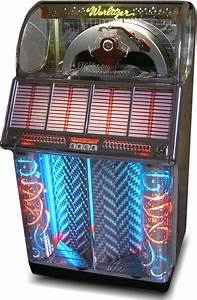 1954 Wurltizer Model 1700 Jukebox  Showing The Beautiful