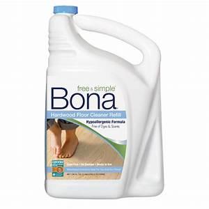 bona free simpler hardwood floor cleaner refill 160 oz With bona hardwood floor cleaner ingredients