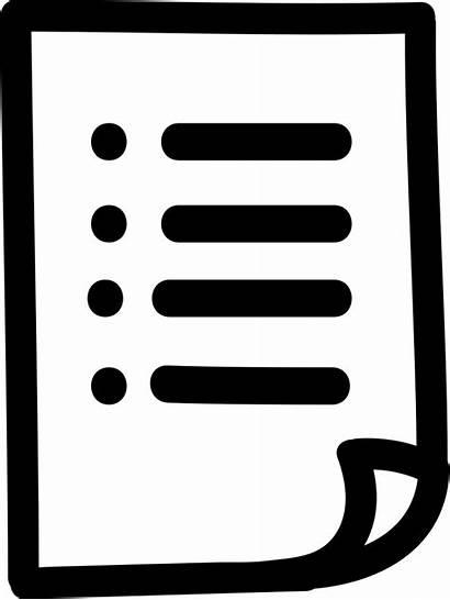 Icon Symbol Paper Hand Drawn Onlinewebfonts