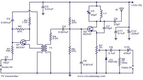 Transmitter Circuit Using Only Transistors Operates