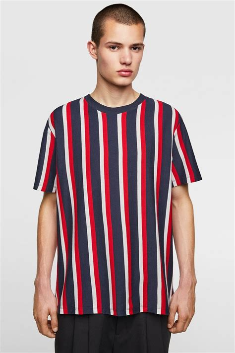 t shirt with vertical stripes item available in more colors s fa19 in 2019