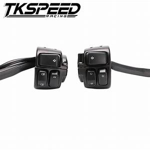 Tkspeed 1 Pair Motorcycle 1 U0026quot 25mm Handlebar Control Switch