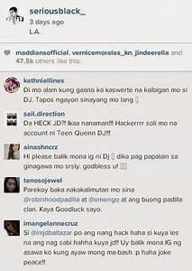 Was Daniel Padilla's Instagram account hacked?