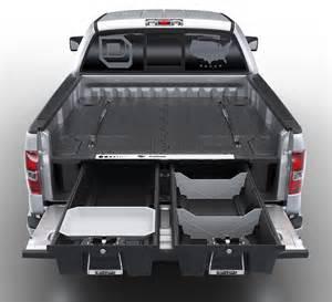 decked truck bed storage drawers van cargo organizers