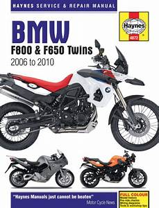 Haynes Manual For Bmw F800 And F650 Twins 2006 To 2010