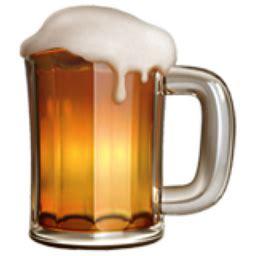 beer emoji beer mug emoji u 1f37a