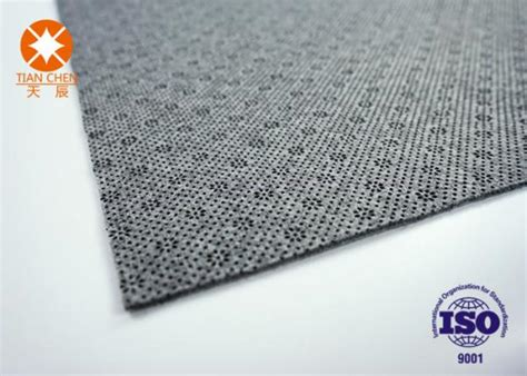 non flammable grey needle punched felt nonwoven fabric