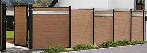 Sichtzäune Aus Holz : modulare sichtschutzsysteme ~ Watch28wear.com Haus und Dekorationen