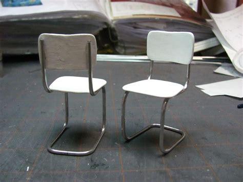 retro kitchen chairs dollhouse miniature furniture tutorials 1 inch minis