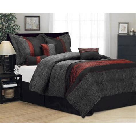burgundy and black comforter set vikingwaterford page 167 beige cotton striped