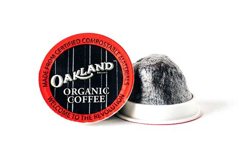 Whole bean coffee + single serve cups. Single Serve Coffee Cups   Oakland Coffee Works   Branding + Packaging Design by Yasamine June ...
