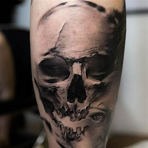80+ Amazing Example Of Cool Skull Tattoo Designs - Golfian.com