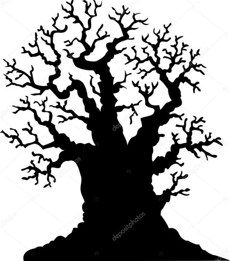 Image result for Silhouette+picture+of+termites+in+an+oak+tree