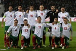Bulgaria's national football team players pose for a photo ...