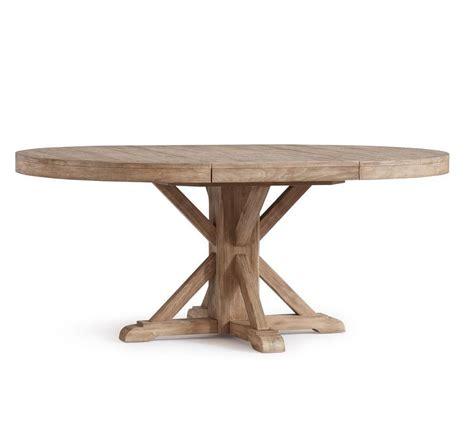 Most current seadrift benchwright extending dining. Benchwright Extending Round Table - Seadrift (123 - 183 cm ...