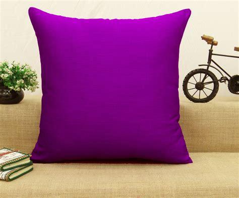Home Decor Pillows : Home Decor Pillow Throw Decorative Dupion Silk Cushion
