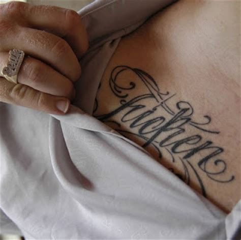 facts   typographic tattoos types  tattoo