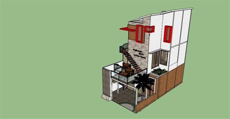 desain rumah  lahan sempit desain rumah sekaligus