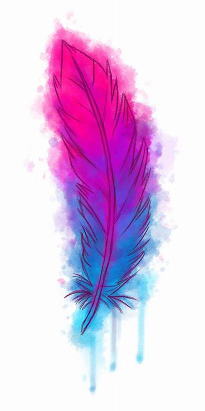 Feather Watercolor Clipart Transparent Heart Watercolour Painting