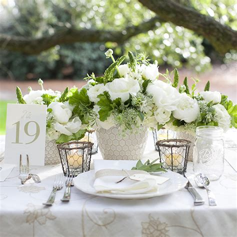 fresh green marriage decorations godfather style