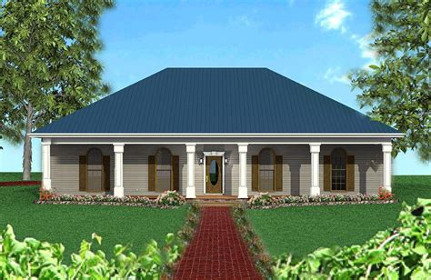 Hipped Roof by Classic Southern With A Hip Roof 2521dh Architectural