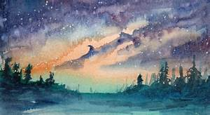 Watercolor Space Art – Space Art By Christopher Doll