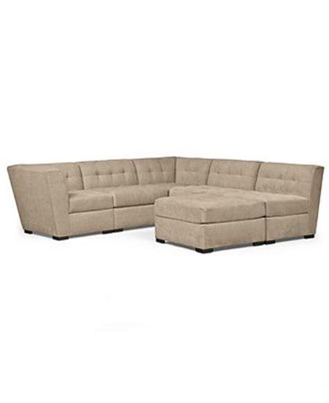 Roxanne Fabric Modular Sectional Sofa, 6 Piece (2 Square