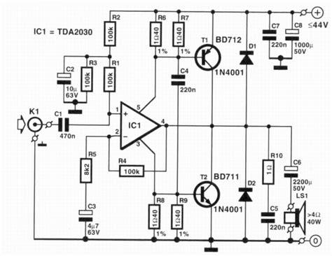 tda audio amplifier  xw amplifiercircuitscom
